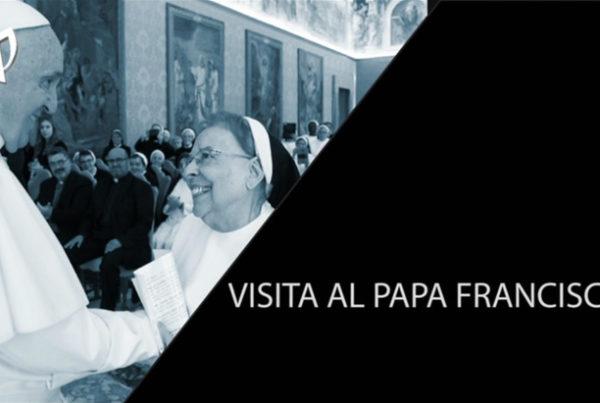 Entrevista a Sor María Gil con motivo de la visita de la congregación a SS Papa Francisco
