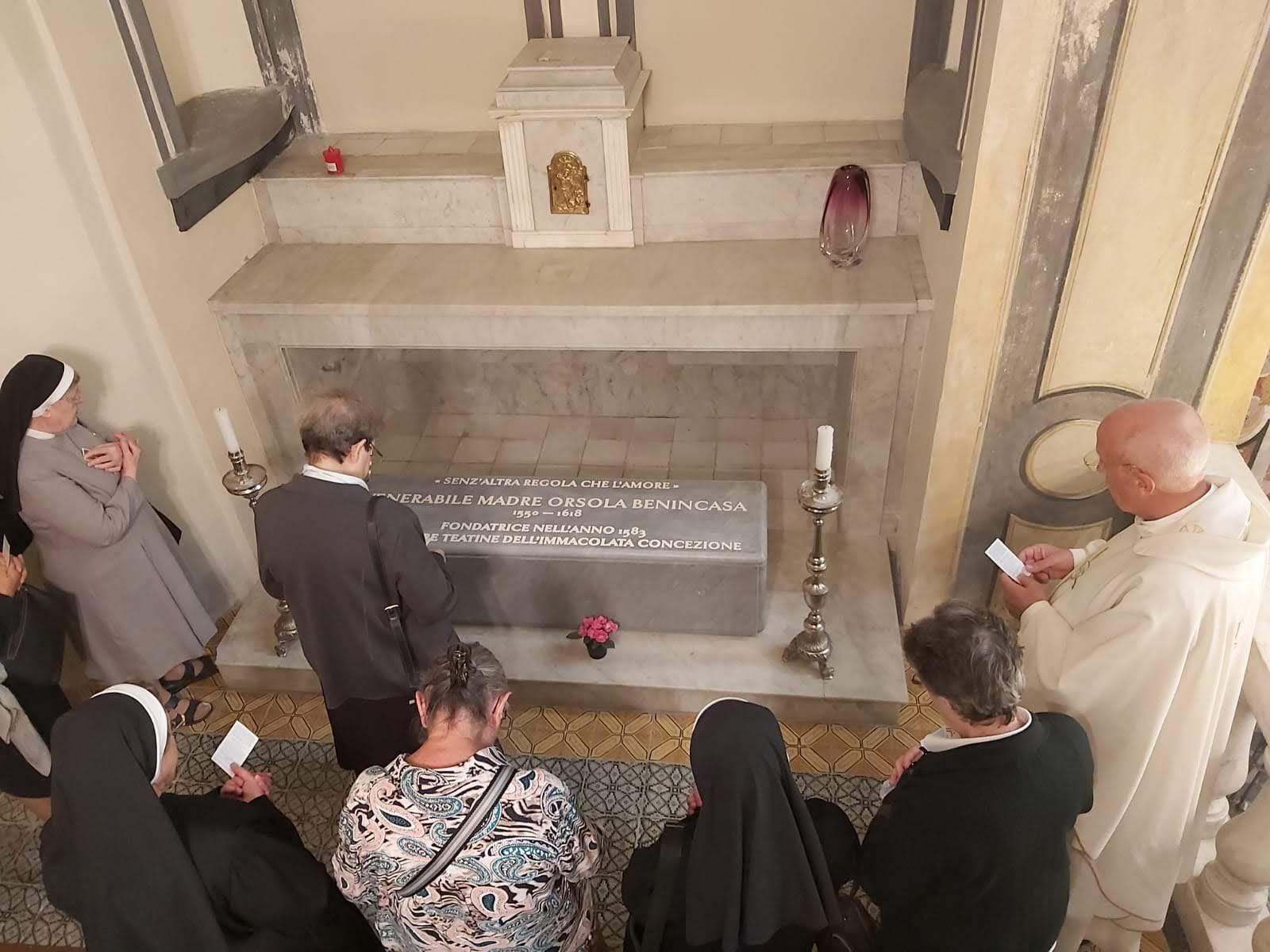 Visita a Madre Ursula en Nápoles