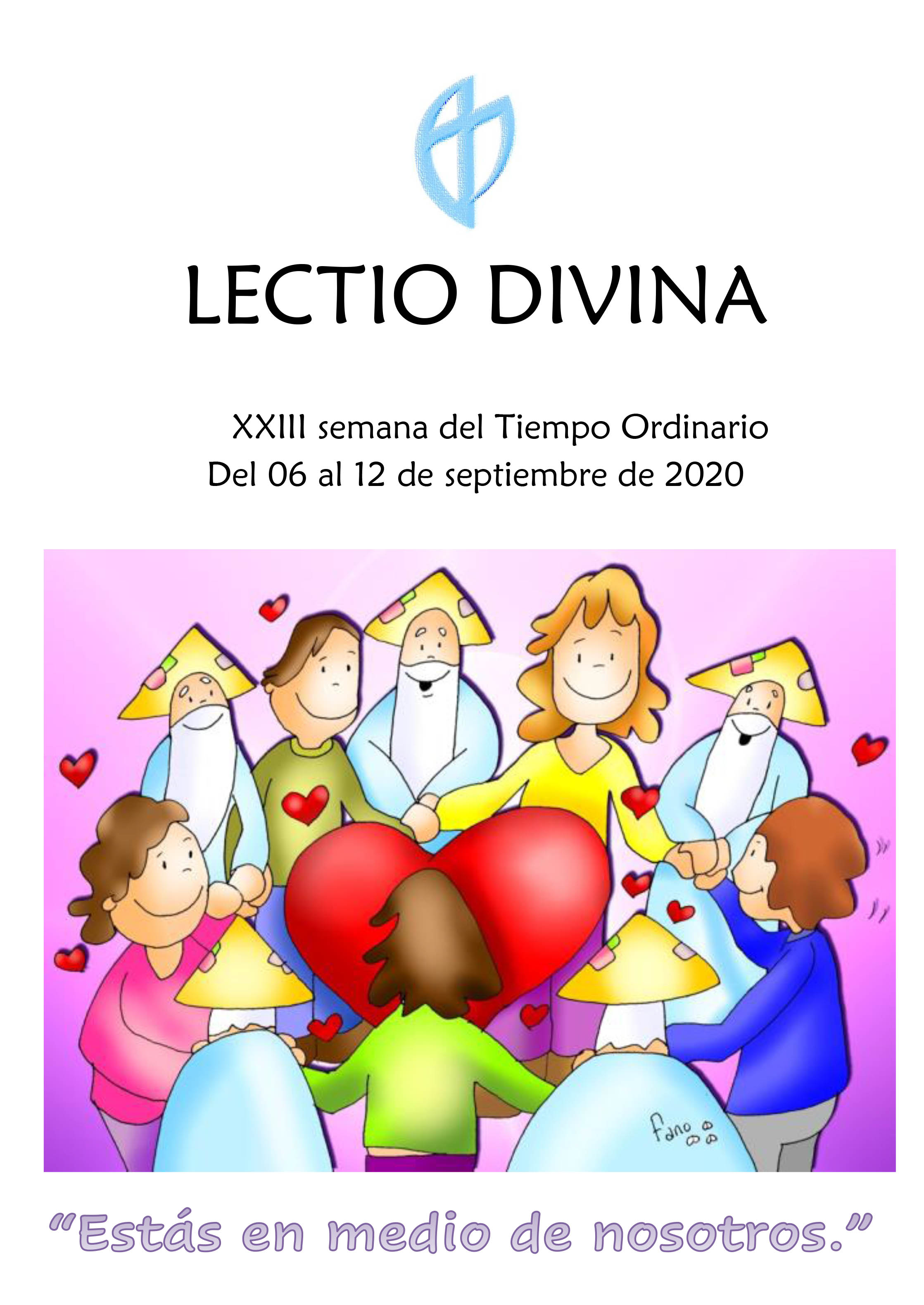XXIII semana del Tiempo Ordinario Del 06 al 12 de septiembre de 2020