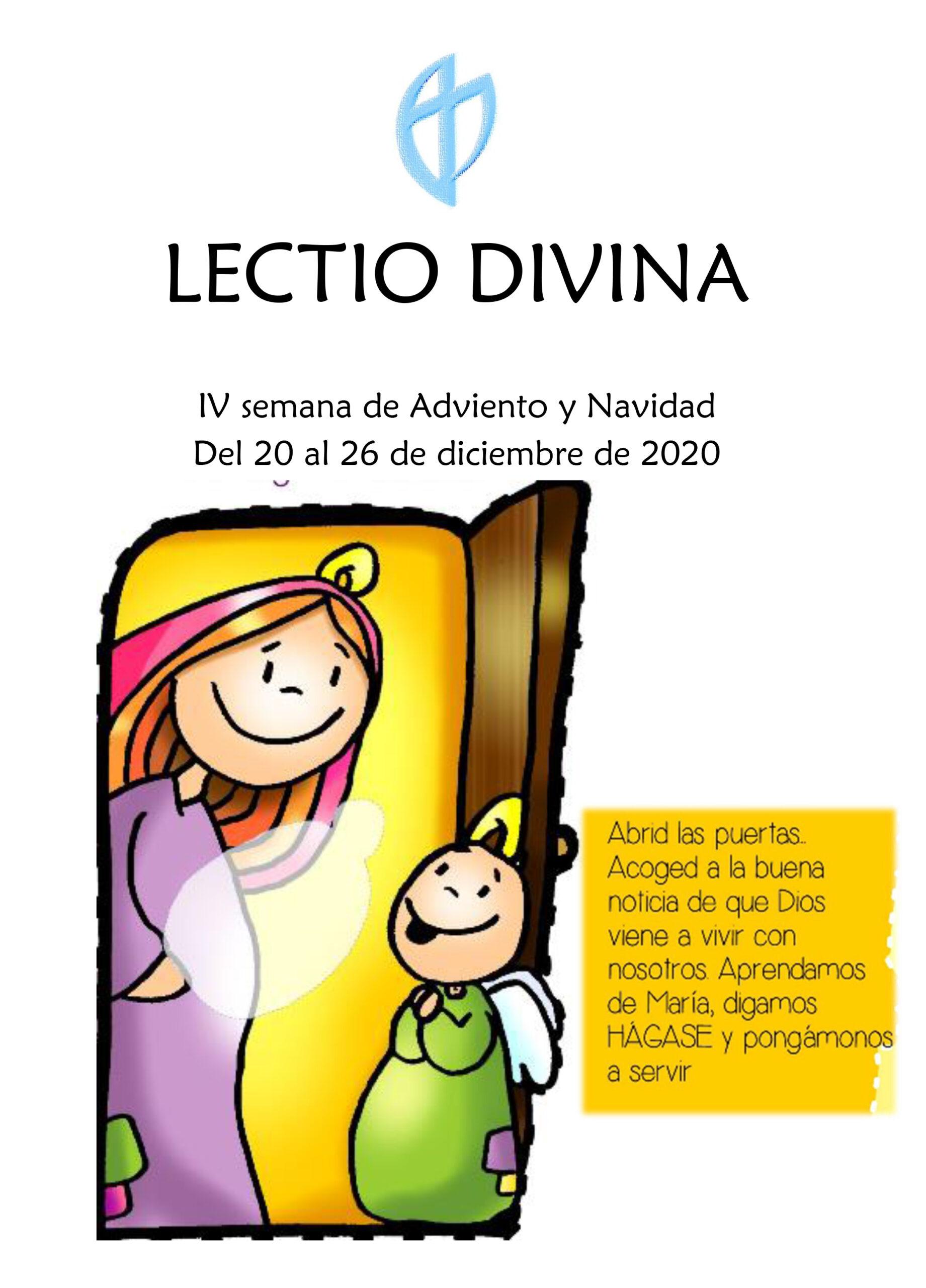 IV semana de Adviento y Navidad (Del 20 al 26 de diciembre de 2020)