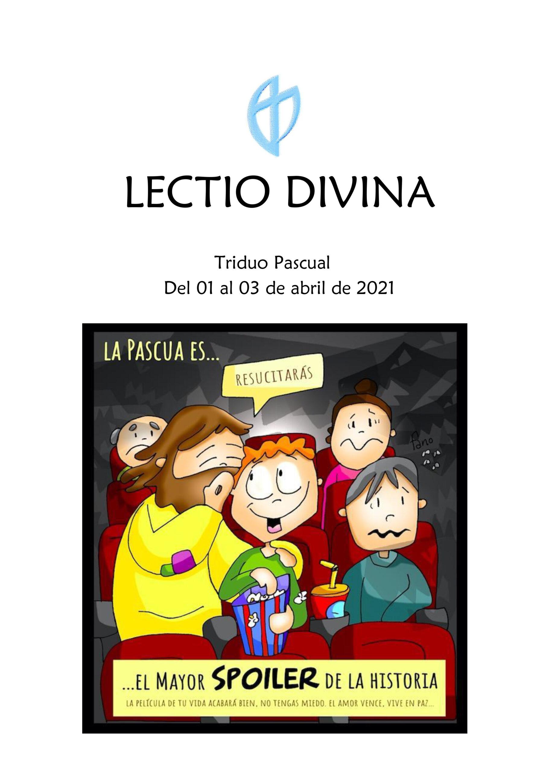 Triduo Pascual Del 01 al 03 de abril de 2021