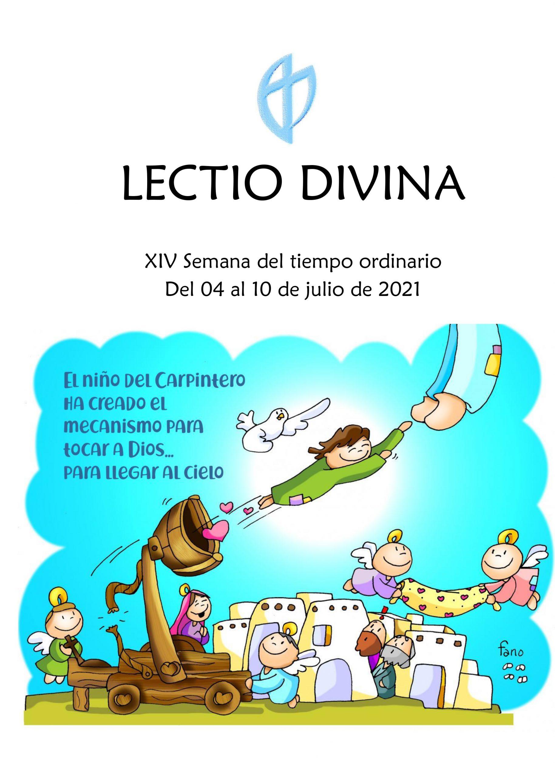 XIV Semana del Tiempo Ordinario (del 04 al 10 de julio de 2021)