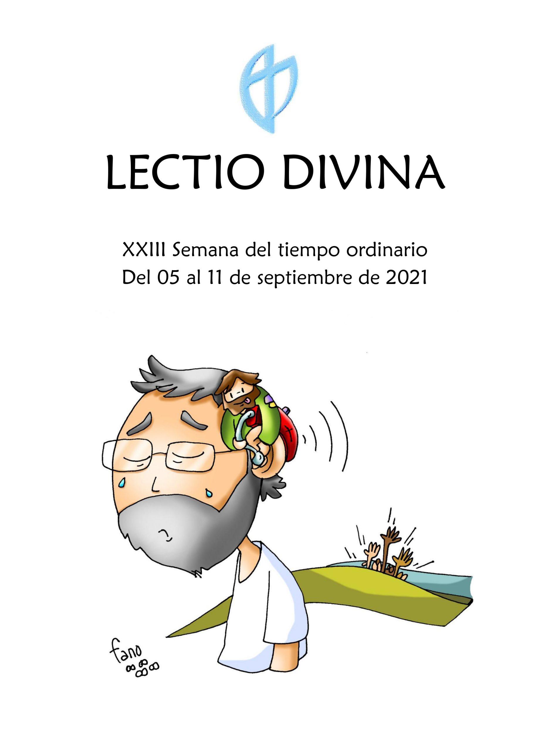 XXIII Semana del tiempo ordinario (del 05 al 11 de septiembre de 2021)