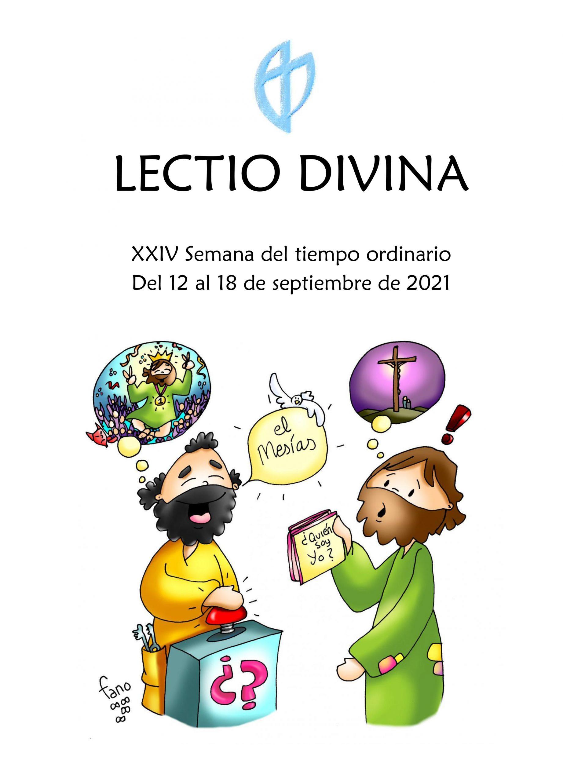 XXIV Semana del tiempo ordinario (del 12 al 18 de septiembre de 2021)