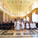 SS Papa Francisco recibe a las Teatinas
