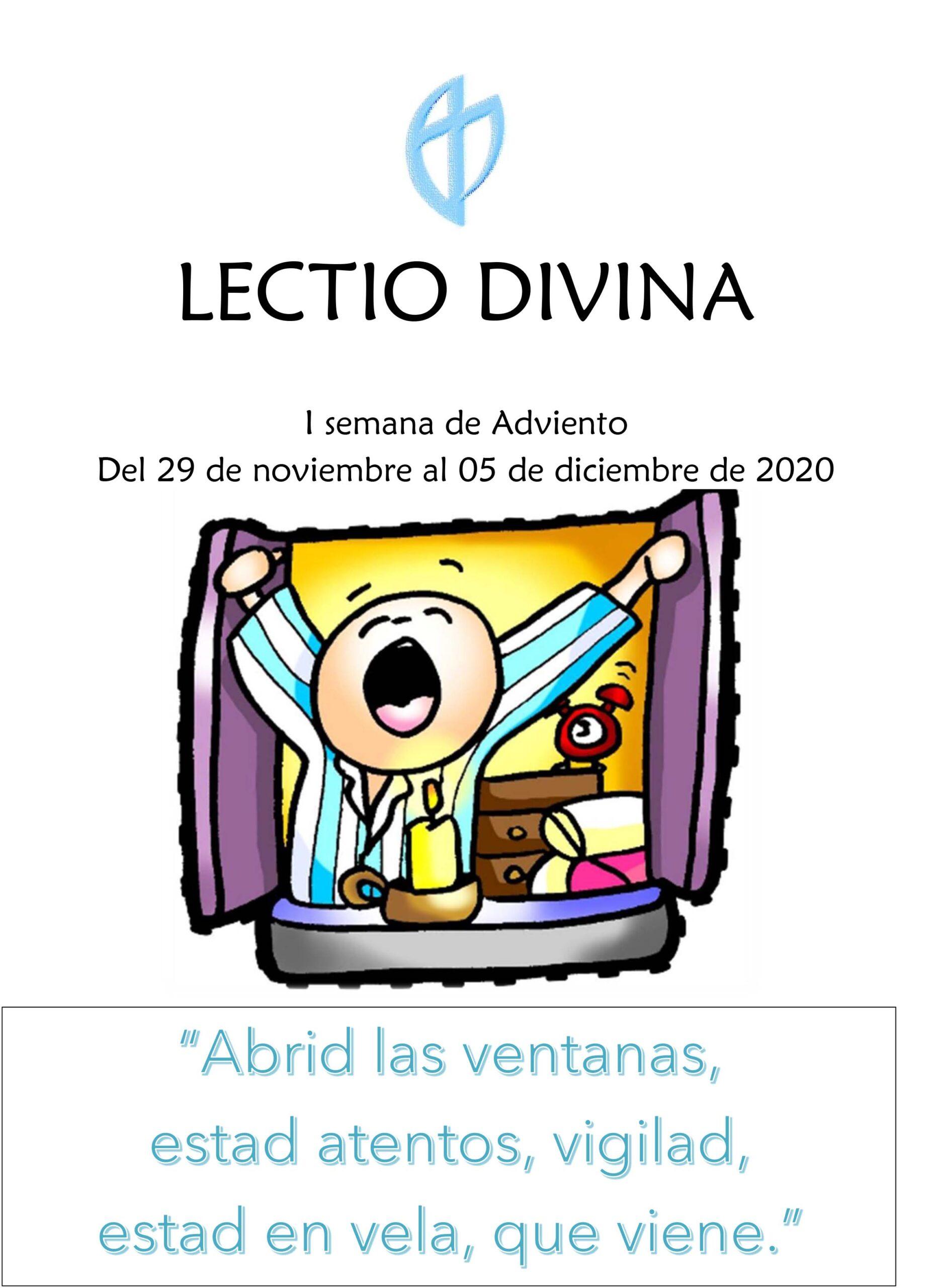 I Semana de Adviento (del 29 de Noviembre al 5 de Diciembre 2020)