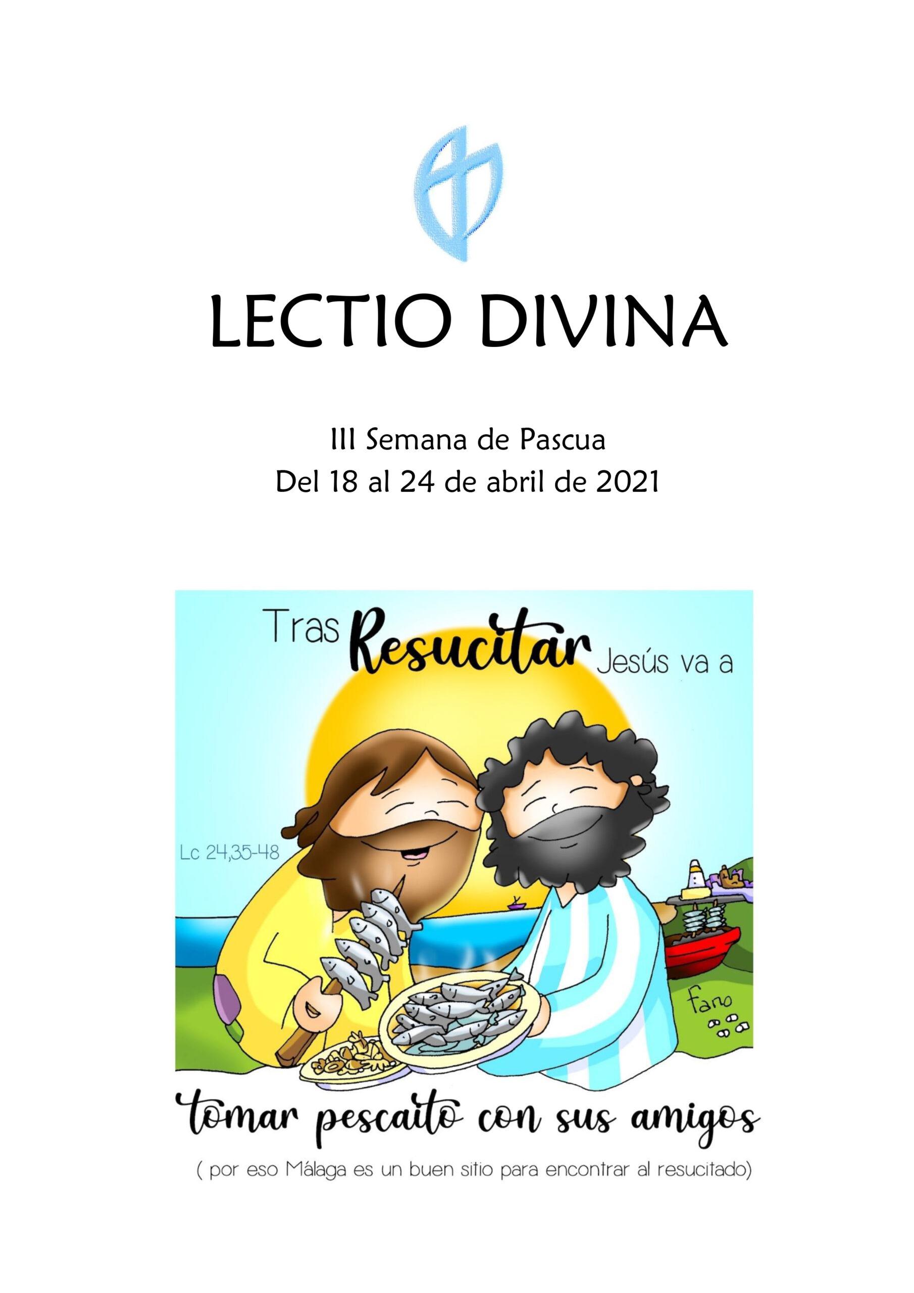 III Semana de Pascua (del 18 al 24 de abril de 2021)
