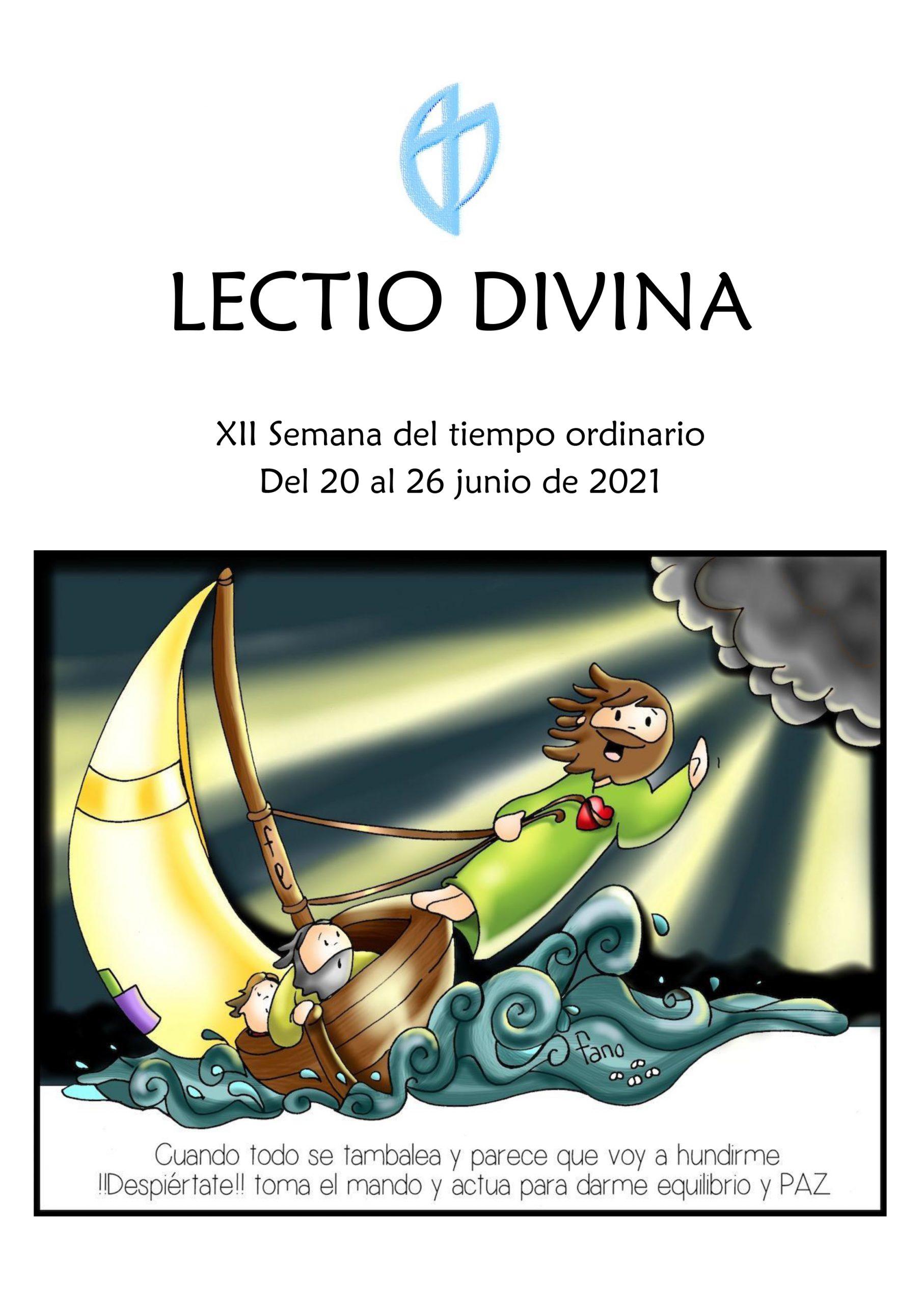 XII Semana del Tiempo Ordinario (20 al 26 junio de 2021)