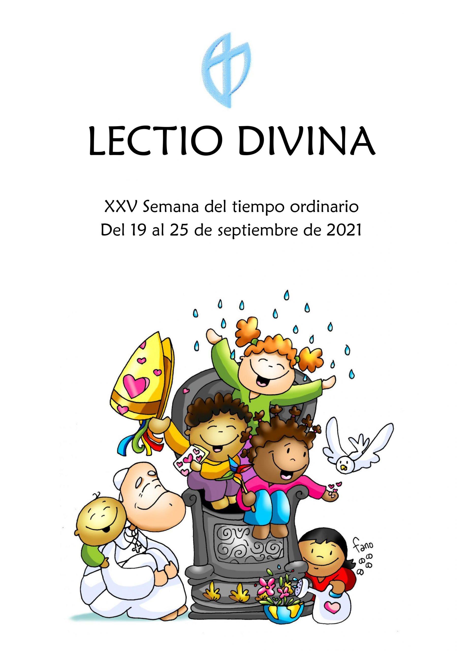 XXV Semana del tiempo ordinario (del 19 al 25 de septiembre de 2021)